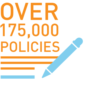 over 175000 policies